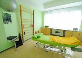 Physikalische-Therapie-Kabine