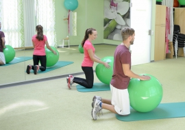 Physioprofis-Trainingsraum