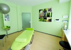 Physikalische-Therapie-Kabinen