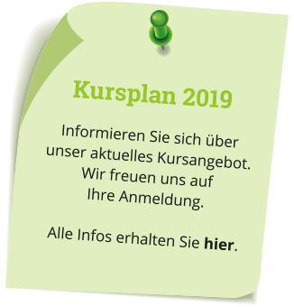 Physiotherapie Kurse 2019